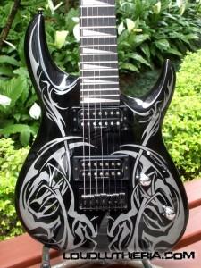 Silas Fernandes pimpa guitarra