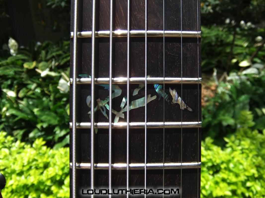 Inlay para guitarra de 8 cordas